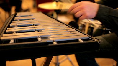 stock-footage-close-up-of-a-marching-band-member-playing-a-xylophone